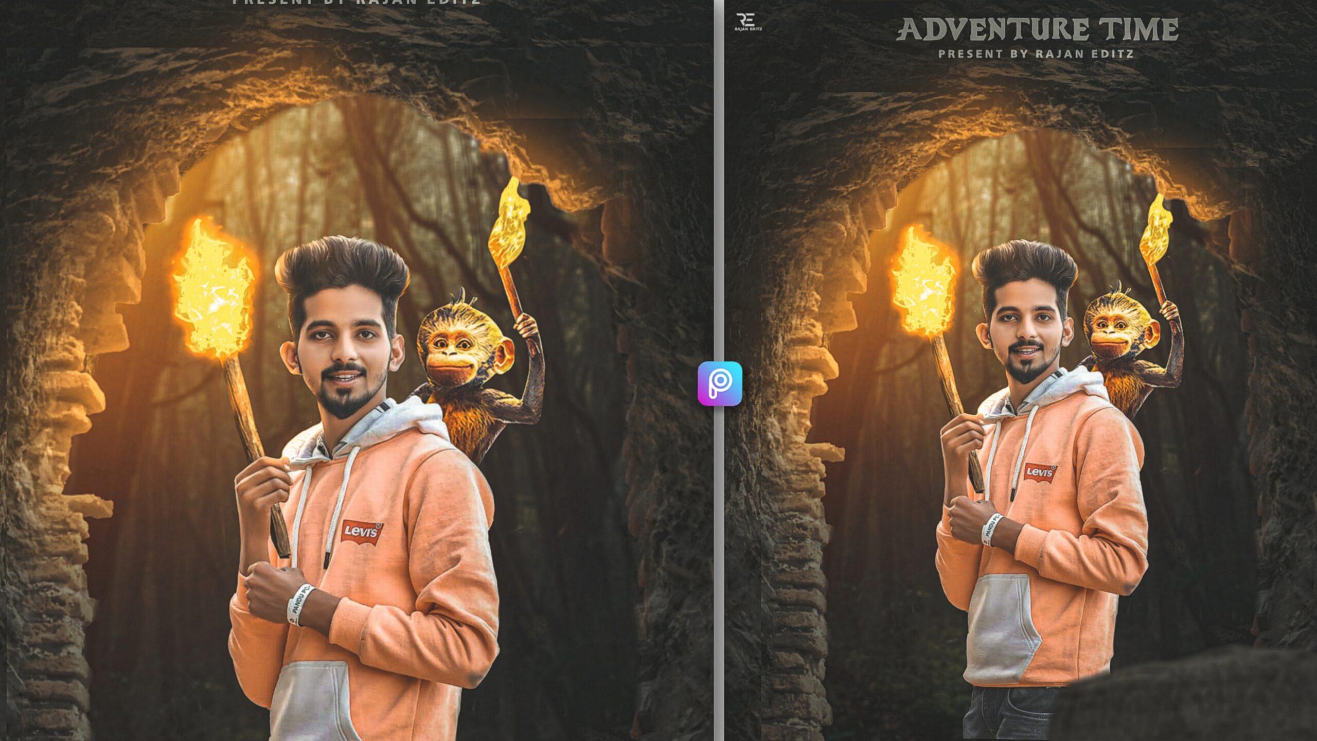 Adventure editing background