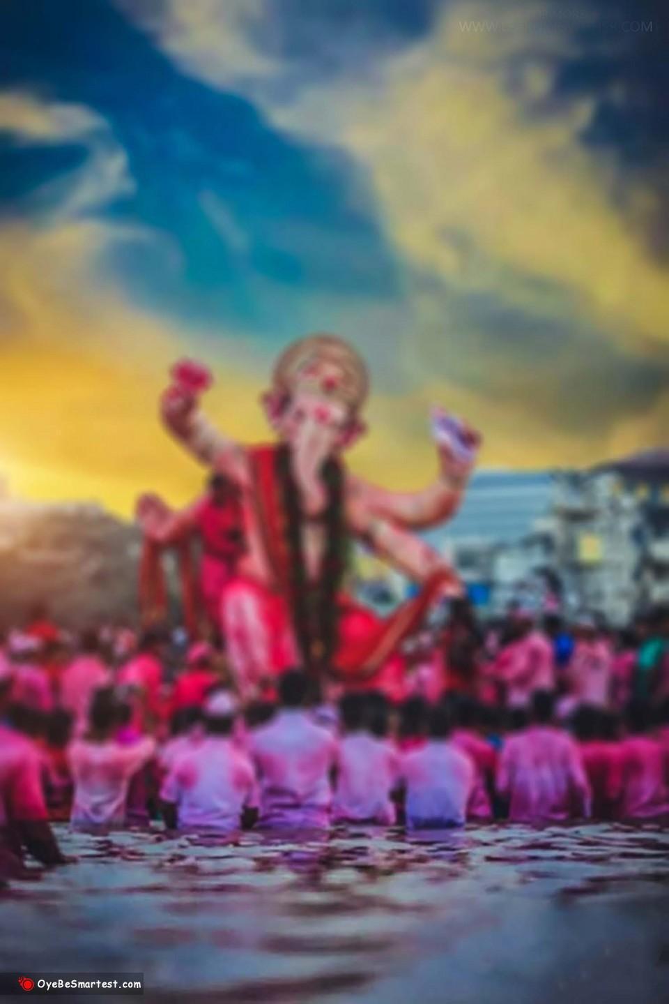 Ganpati visarjan editing background || Ganesh Visarjan editing background