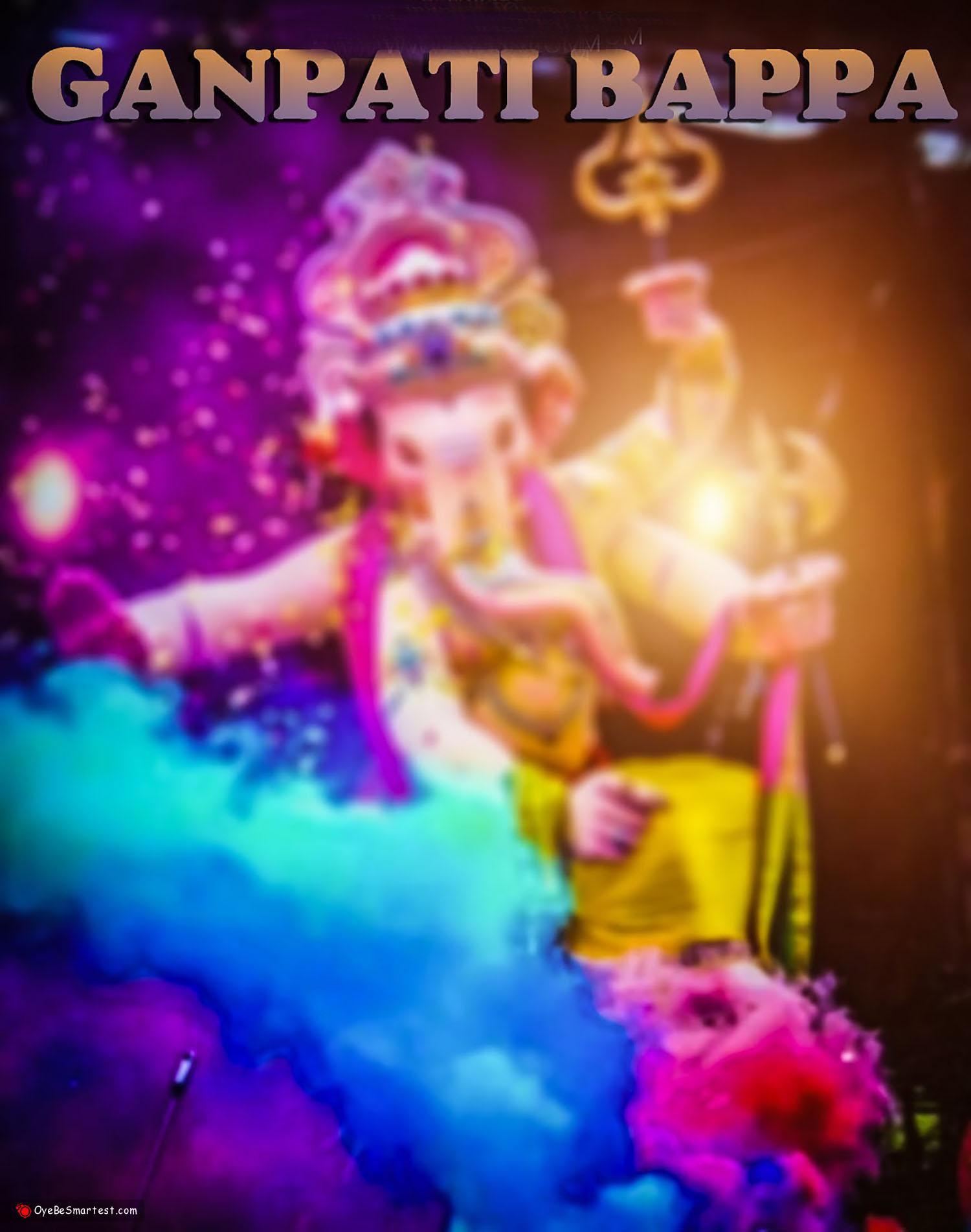 Ganpati bappa background || Ganesh bappa background