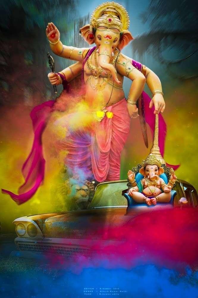 Ganpati editing background__ Ganesh chaturthi background