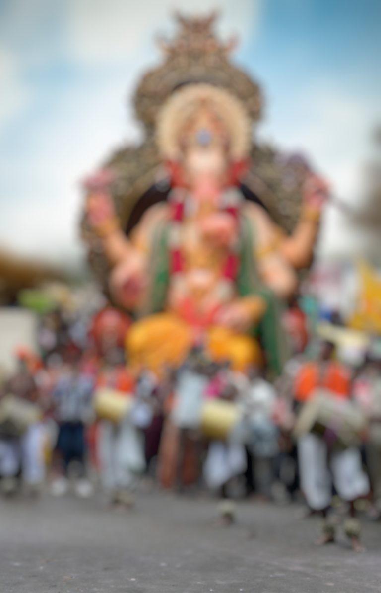 Ganpati procession editing background || ganesh editing background