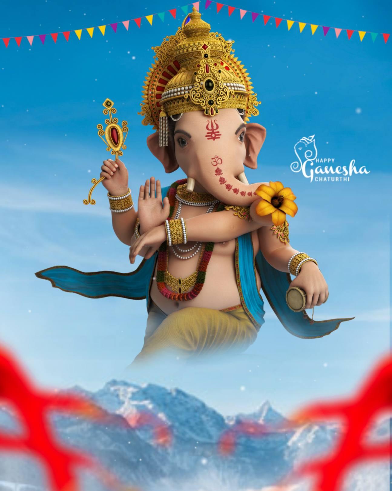 Ganesh editing background || Ganpati banner background