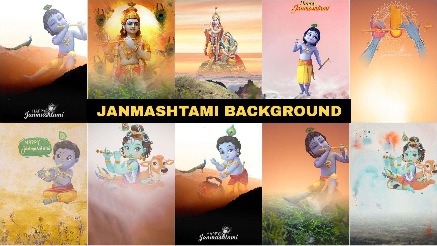 Janmashtami background