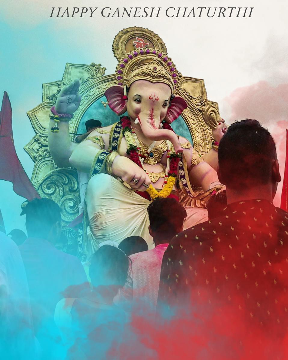 Happy ganesh chaturthi editing || ganesh background