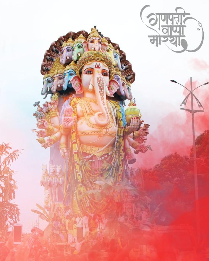 Ganpati bappa morya editing background || ganpati editing background