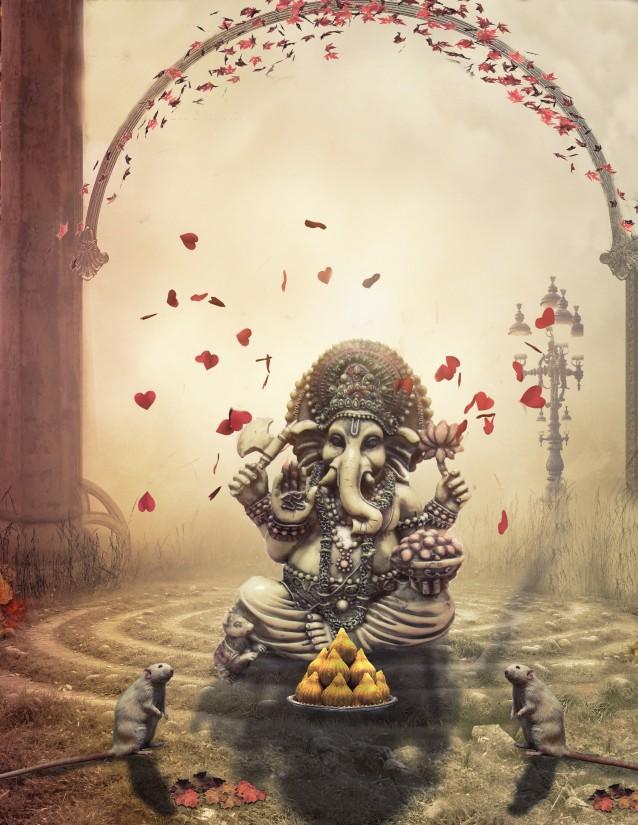 Ganesh manipulation editing background -- Ganpati manipulation editing background