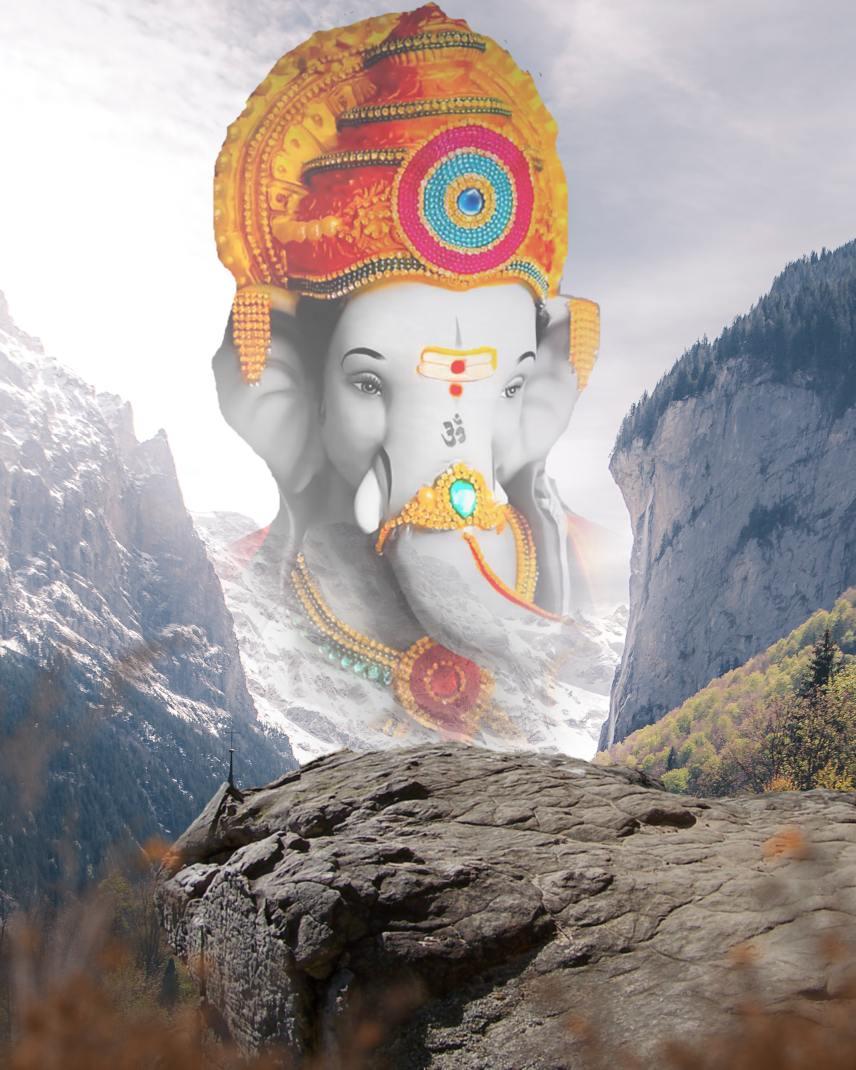 bappa background_Ganesh chaturthi background