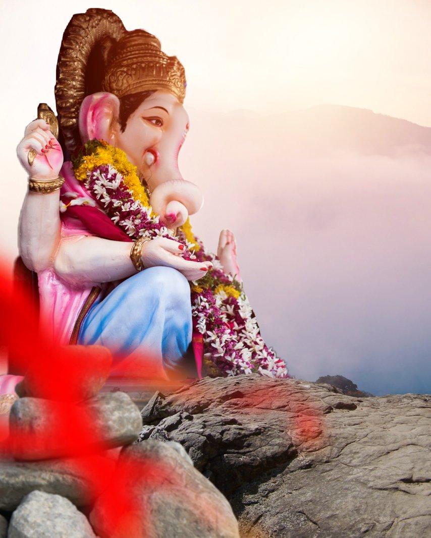 Ganesh chaturthi Background_Ganpti bappa background