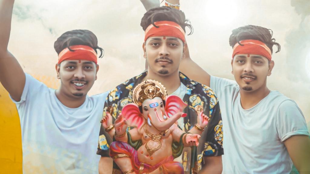 Ganesh editing background