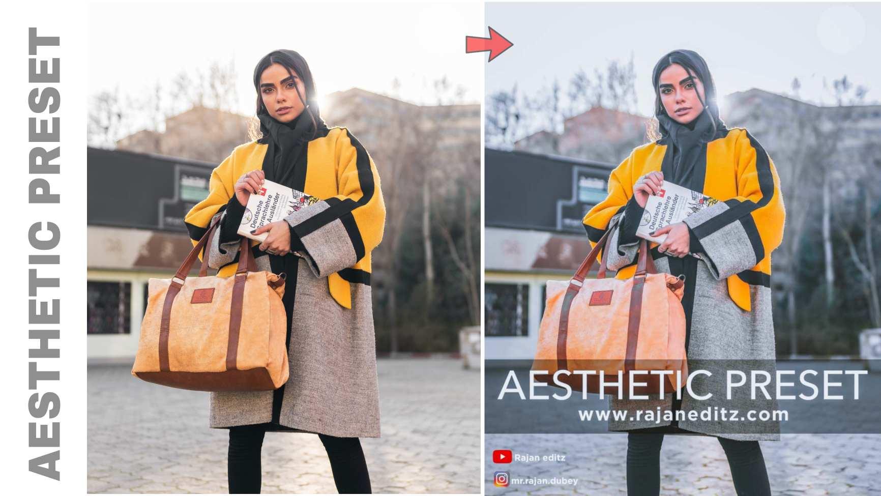 Aesthetic preset free lightroom preset