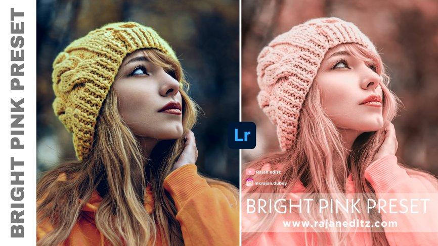 rajan editz_Bright Pink Preset