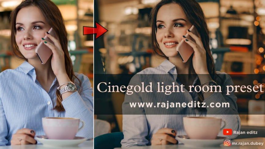 Cinegold lr preset