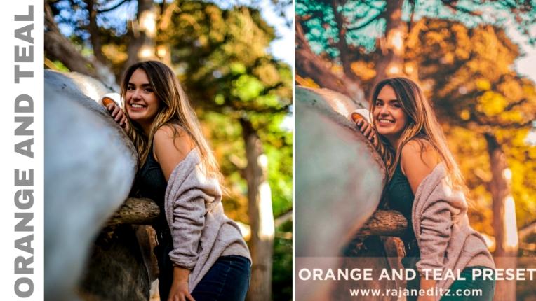 Orange and teal preset_Rajan editz